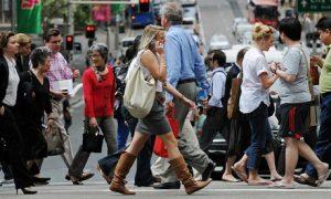 A busy street in Sydney, Australia