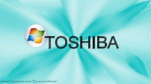 Wallpaper windows  TOSHIBA